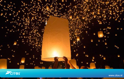 Lampion Waisak Borobudur 2017 - Citos Connection